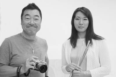 写真家 山岸伸先生との撮影