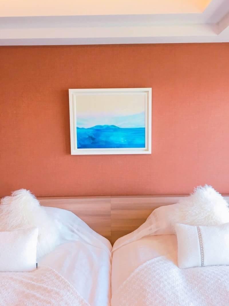 三重県 鳥羽国際ホテル MIKIMOTOコンセプトルームにて展示中