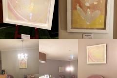 名古屋マリオットアソシアホテルブライダルサロンにて展示