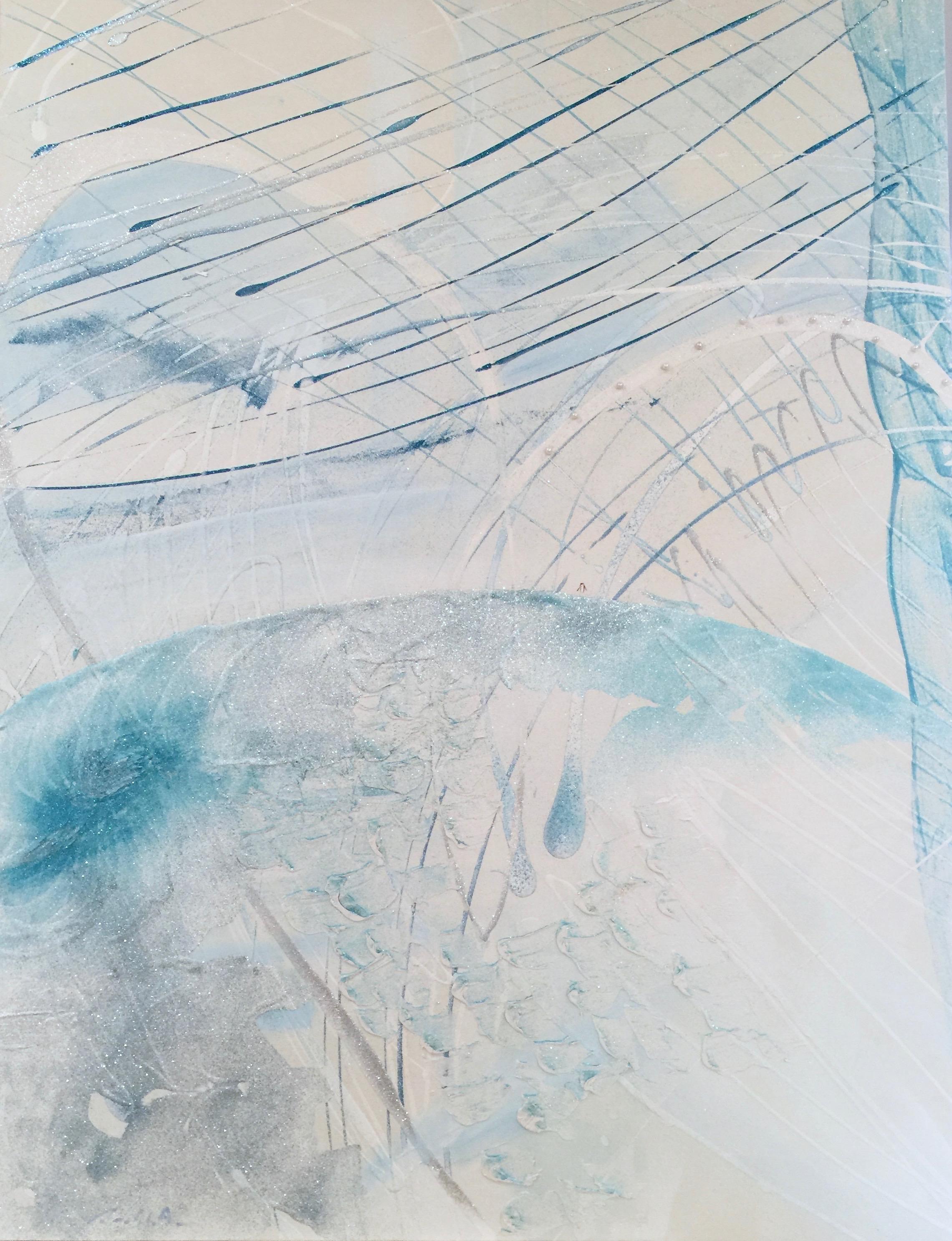 Ice Mountain (The A Little Penguin)   (117 x 91cm)
