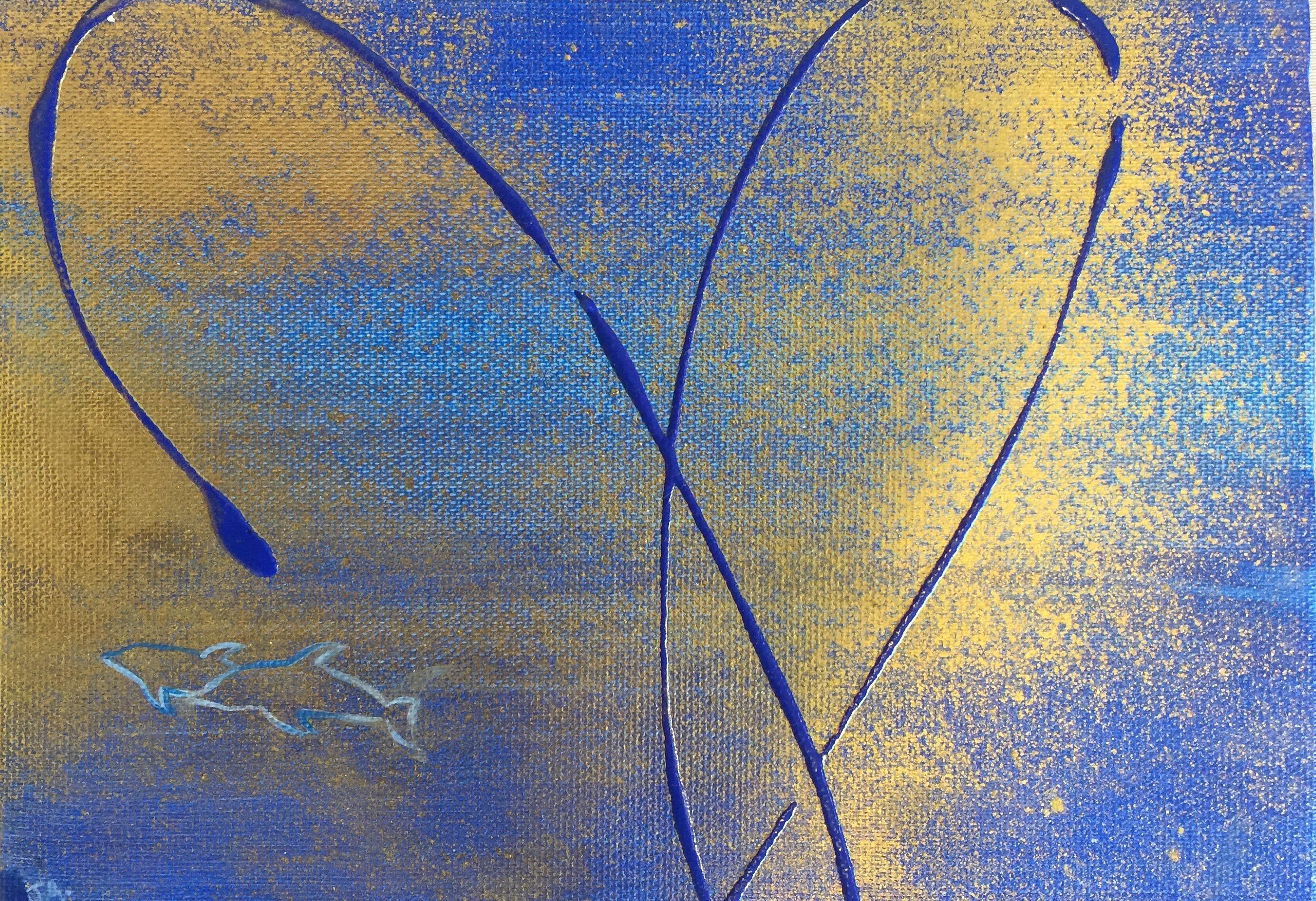 Blue Moments   -   23cm×16cm