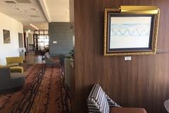 ANA Holiday Inn Sky ロビーラウンジにて展示